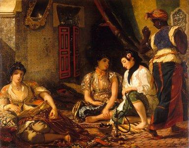 アルジェの女たち767px-WomenofAlgiers.jpg