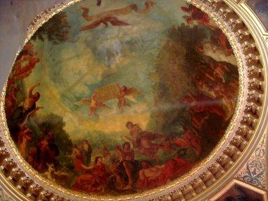 リンボ(リュクサンブール宮図書室の天井画)800px-Luxembourg-Library-Delacroix.jpg