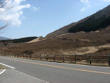 野焼き後の仙石原.jpg