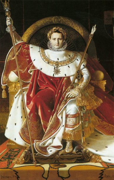Napoleon I on the Imperial Throneナポレオン.jpg