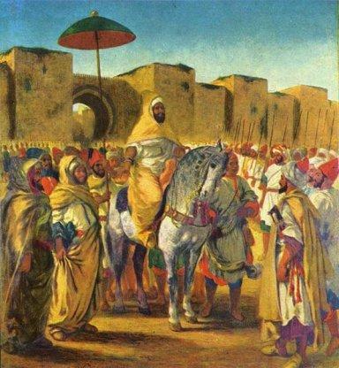 モロッコのスルタン553px-Eug%C3%A8ne_Ferdinand_Victor_Delacroix_033.jpg
