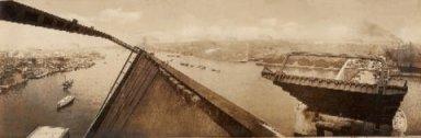 勝鬨橋が開いているところ(上流側を望む)kachidoki_kaihei.jpg