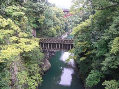 日本三名橋:猿橋からの眺め.jpg