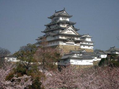 桜の季節の姫路城を南東より望むCastle_Himeji_sakura01.jpg