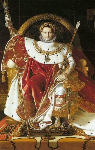 Napoleon I on the Imperial Throneナポレオン.jpg