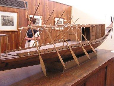 エジプト旅行:太陽の船博物館:...